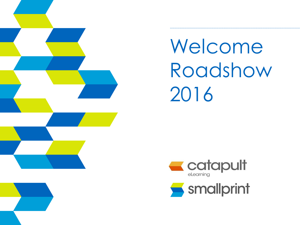 Webinar National Roadshow 2016