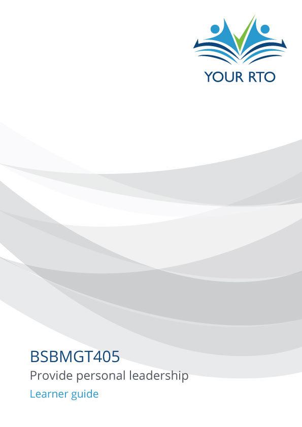BSBMGT405 Sample