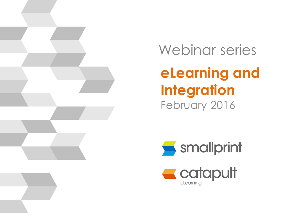 Webinar Snapshot Series eLearning and Integration